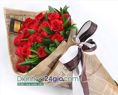 Hoa sinh nhat dep ban o dau Ha Noi gia re